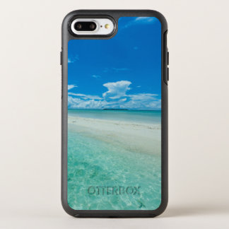 Blue tropical seascape, Palau OtterBox Symmetry iPhone 7 Plus Case