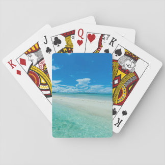 Blue tropical seascape, Palau Poker Deck