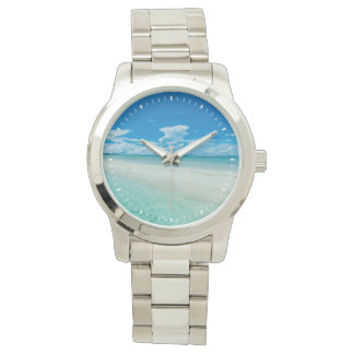 Blue tropical seascape, Palau Wrist Watch