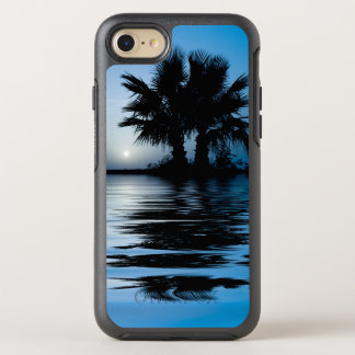 Blue Tropical Sunrise OtterBox Symmetry iPhone 8/7 Case