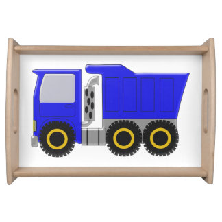 Blue Truck Serving Tray