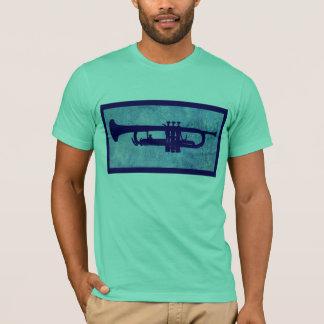 Blue Trumpet T-Shirt