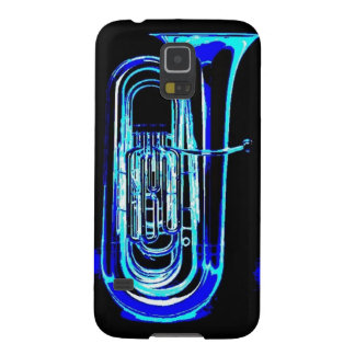 Blue Tuba Galaxy S5 Case