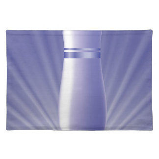 blue tube placemat