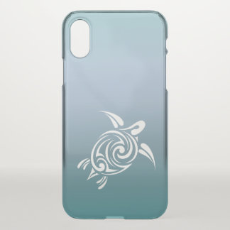 Blue Turtle Animal Hawaii Tropical Beachstyle iPhone X Case