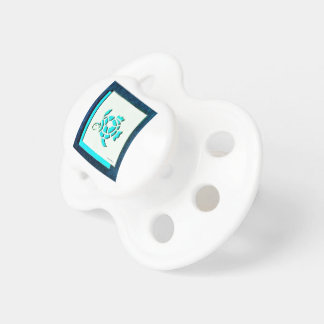 Blue Turtle Baby Pacifiers