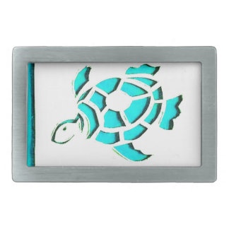 Blue Turtle Belt Buckles