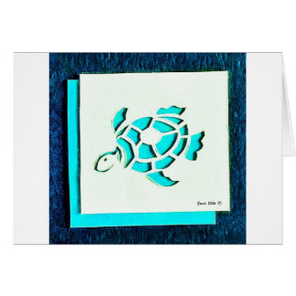 Blue Turtle Card