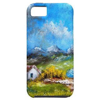 Blue Tuscany Case For The iPhone 5