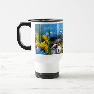 Blue Tuscany Travel Mug