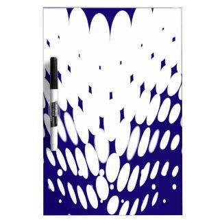 Blue Twist Dry Erase Board