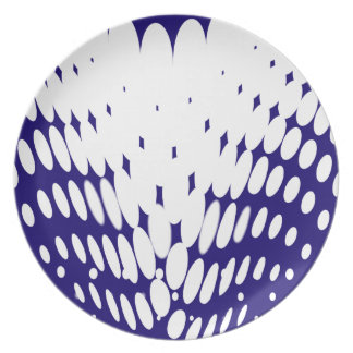 Blue Twist Plate