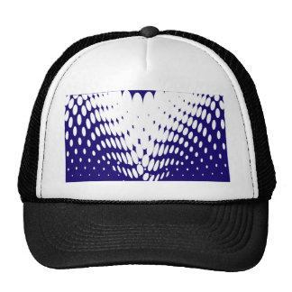 Blue Twist Trucker Hat