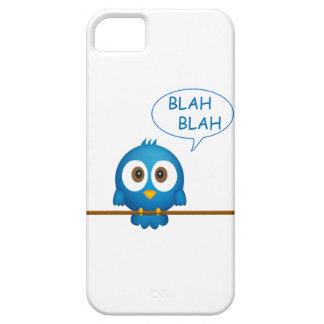 Blue twitter bird cartoon iPhone 5 cover