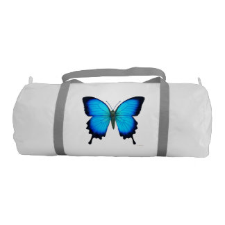 Blue Ulysses Butterfly Duffle Bag