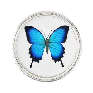 Blue Ulysses Butterfly Lapel Pin