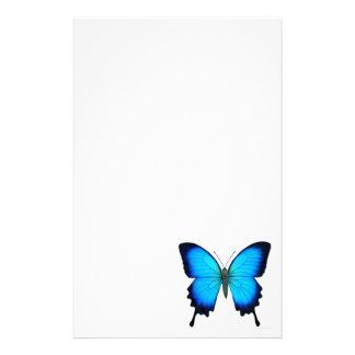 Blue Ulysses Butterfly Stationery