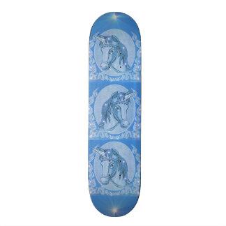 Blue Unicorn Skate Board