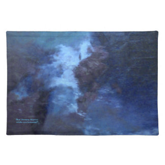 "BLUE UNIVERSE ABSTRACT"" PLACEMAT"