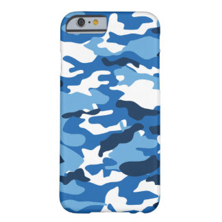 Blue Urban Camo iPhone6 Case