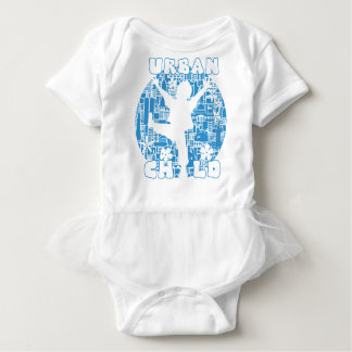 BLUE URBAN CHILD BABY BODYSUIT