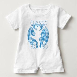 BLUE URBAN CHILD BABY ROMPER
