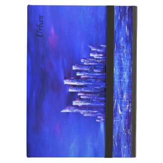 Blue Urban ipad air cover by Jane Howarth