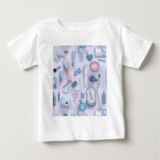 Blue Vanity Table Baby T-Shirt