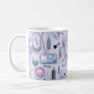 Blue Vanity Table Coffee Mug