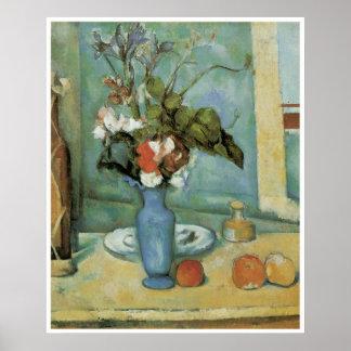 Blue Vase c 1883-87 Paul Cezanne Poster