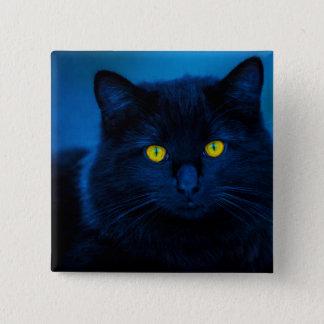 Blue Velvet 2 Inch Square Button