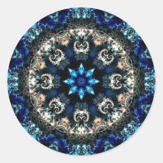 Blue Velvet Classic Round Sticker