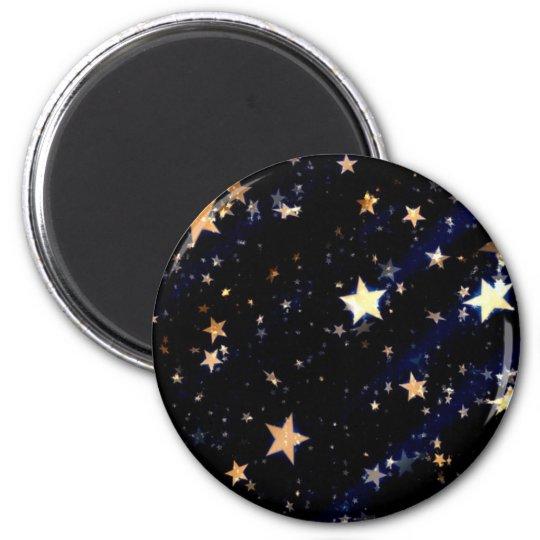 Blue Velvet Effect Stars Magnet