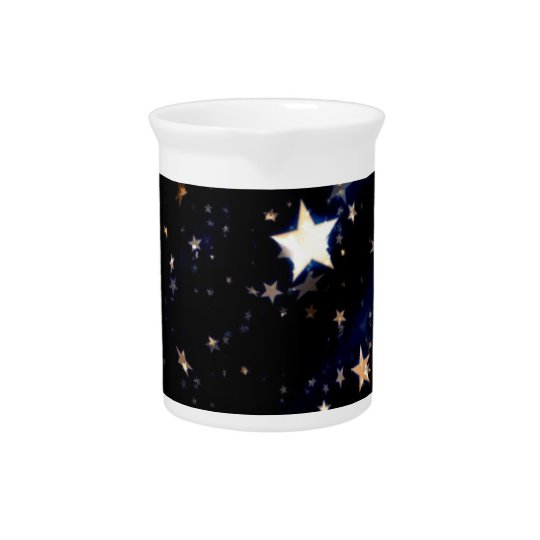 Blue Velvet Effect Stars Pitcher