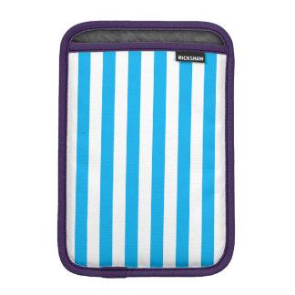 Blue Vertical Stripes iPad Mini Sleeve