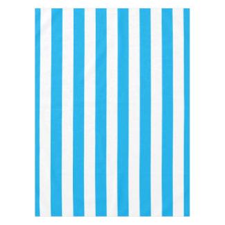 Blue Vertical Stripes Tablecloth
