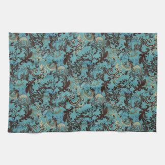 Blue Vintage American MoJo Kitchen Towel