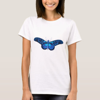 Blue Vintage Butterfly T-Shirt