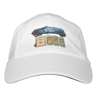 Blue Vintage Car Hat