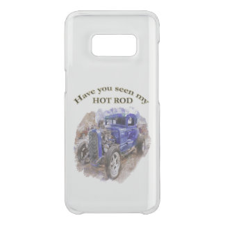 Blue vintage old roadster with the engine out uncommon samsung galaxy s8 case