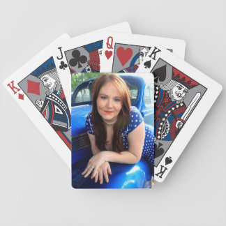 Blue Vintage Playing Cards