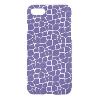 Blue Violet Animal Giraffe Wild iPhone 7 Case