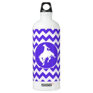 Blue Violet Chevron; Rodeo