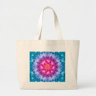 Blue Violet Large Tote Bag