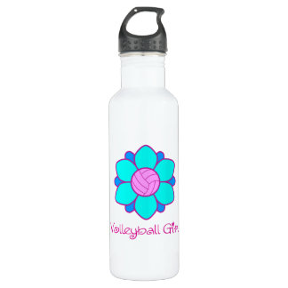 Blue Volleyball Girl 710 Ml Water Bottle