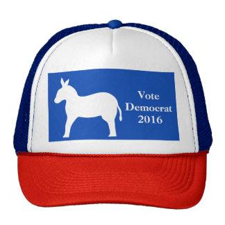 Blue Vote Democrat 2016 Election Donkey Trucker Hat
