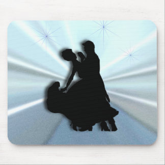 Blue Waltz Mouse Pad