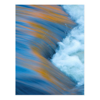 Blue water abstract, Canada Postcard