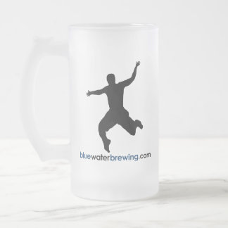 Blue Water Brewing Glazed Mug