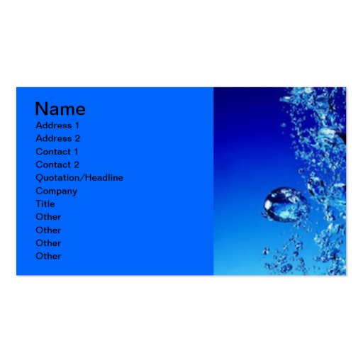standard sized clear business cards  u0026 business card templates